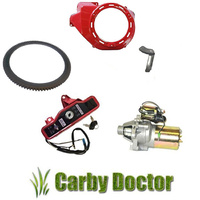 ELECTRIC STARTER CONVERSION KIT FOR HONDA GX340 & GX390 ENGINES NEW