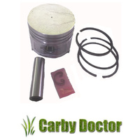 PISTON KIT FOR SUBARU ROBIN ENGINES EY40 EY 40 RINGS GUDGEON PIN 224-23401-23