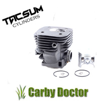 PREMIUM TACSUM CYLINDER KIT FOR HUSQVARNA 390 385 CHAINSAW 55MM 544 00 65-02