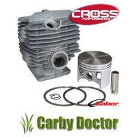 PORTED CYLINDER KIT FOR STIHL 084 CHAINSAWS 60MM  CROSS PERFORMANCE