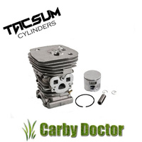 PREMIUM TACSUM CYLINDER KIT FOR HUSQVARNA 455 RANCHER 455E 460 CHAINSAW  47MM