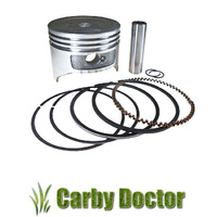 "PISTON KIT FOR HONDA GX270 GXV270 ENGINES 9HP 77MM +.020"" BORE 13101-ZH9-000"