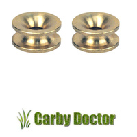 2 x BRASS EYELETS FOR STIHL LINE TRIMMER WHIPPER SNIPPER BRUSHCUTTER HEADS
